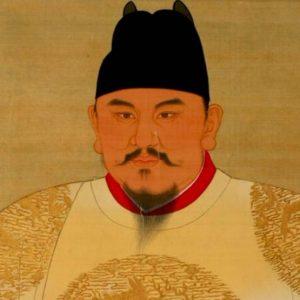 朱元璋的画像