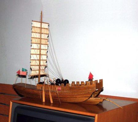 大明水师战舰种类多样,堪称无敌